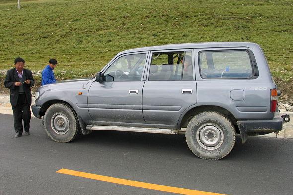 A cruzar el Himalaya con un conductor novato