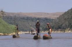 Madagascar rio Tsiribina