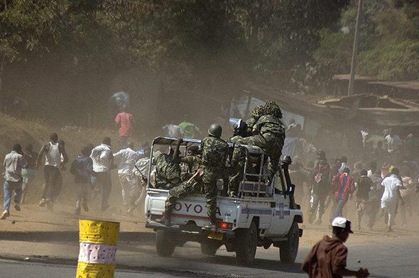 Malavi: a morte do Presidente, corrupción policial