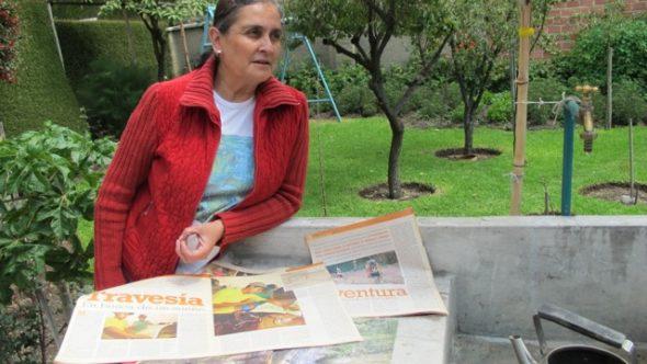 Chiquitanía, Ako žaba žena