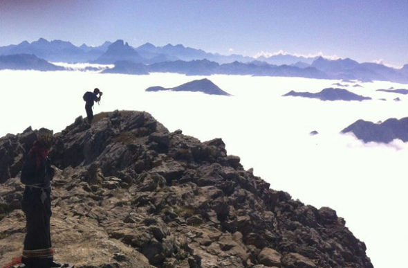 Mesa de los Tres Reyes: soledad sobre las nubes