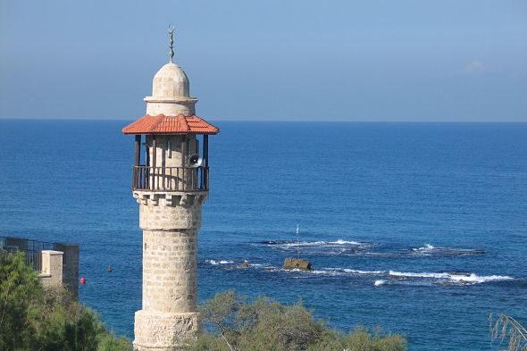 Jaffa: la mezquita del mar