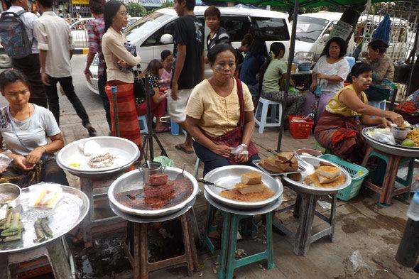 Yangon: bienvenido Mr. Oil