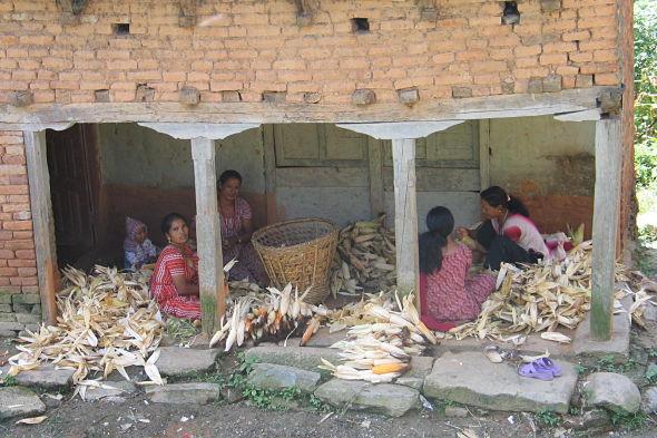 De Nagarkot a Changu Narayan: Nepal a ras de suelo