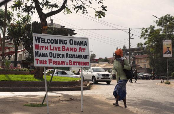Quenia: Bye Bye Obama