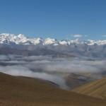 El espinazo del Himalaya, desde el Pang-la