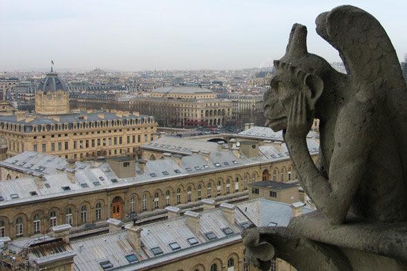 Париж: богач, бедняк