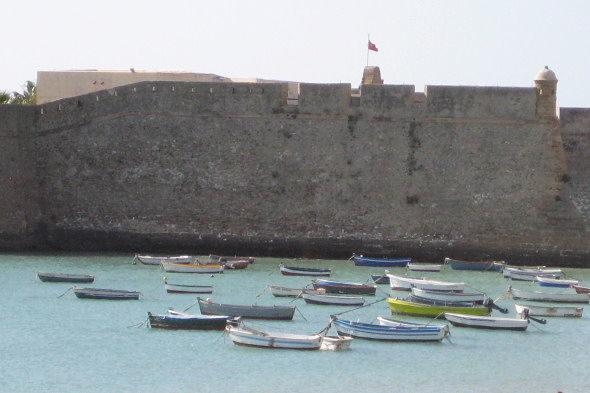 Cadiz: starke Meer