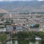 Vistas de Lhasa desde el Potala