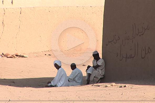 スーダン: ヌビア人の村を越えルート