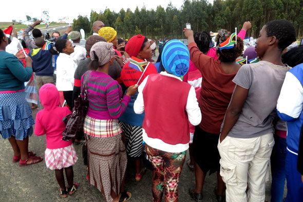 Qunu: los vecinos de Mandela