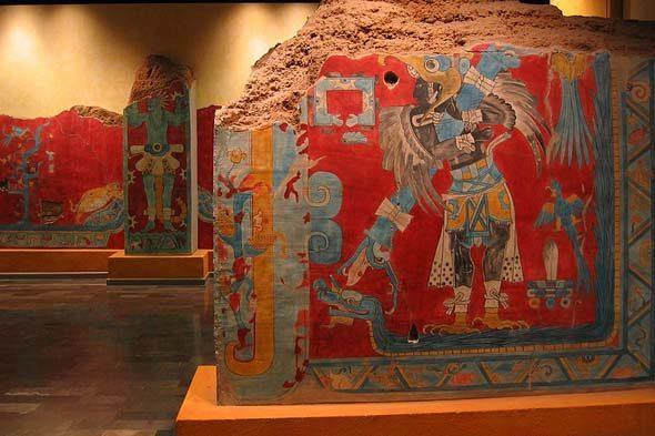 Cacaxtla: murais en guerra