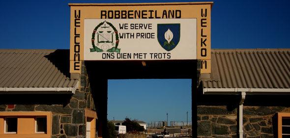 Kapstadt (In): Robben Island, Mandelas Käfig