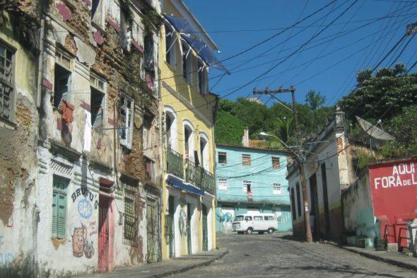 Salvador: buscar a preguiza Rúa impaciente