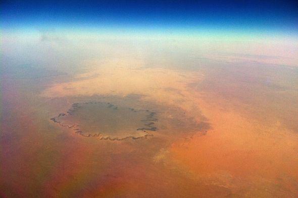El Sáhara desde el balcón del aire