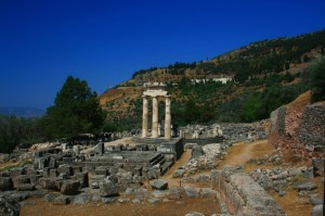 Santuario de Tholos Corfu Grecia