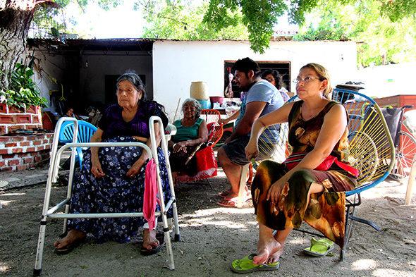 Terratrèmol d'Oaxaca: ajudes i robatoris després de la castátrofe