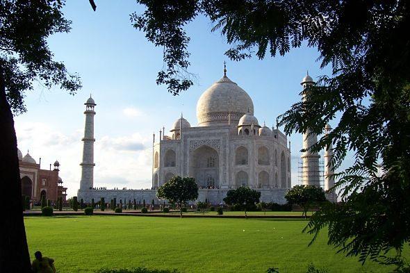 Taj Mahal: unha bágoa no rostro da India