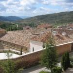 Tejados del palacio ducal en Pastrana