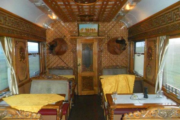 Un vagón cualquiera del Transiberiano