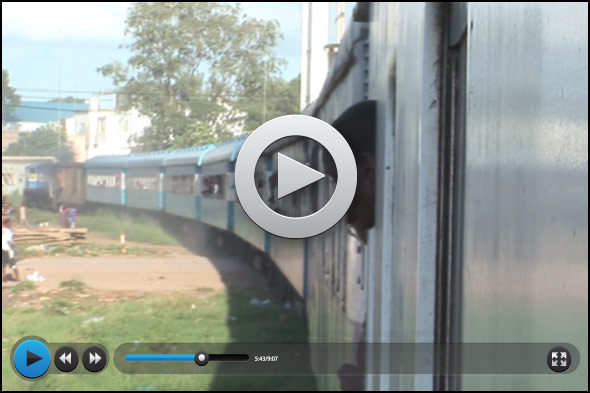 Norte de Mozambique: África desde el tren