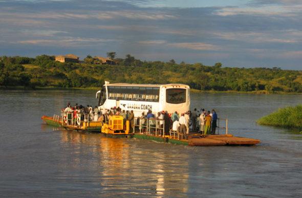 Paisajes de Uganda