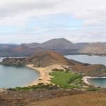 Vista de la Isla Bartolome en Galapagos