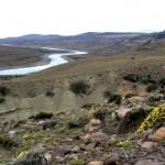 Vista del río Santa Cruz