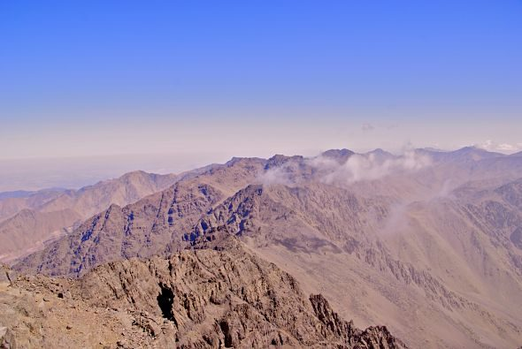 The ascent of Jebel Toubkal