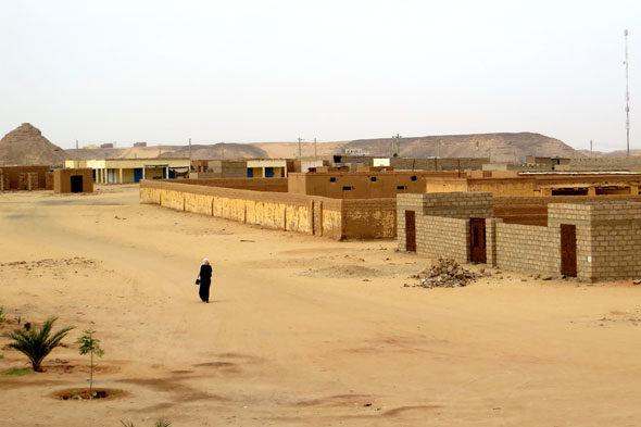 Bilo je ljudi žive u Wadi Halfa