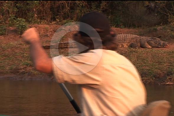 Zambeze: navegar por el Edén