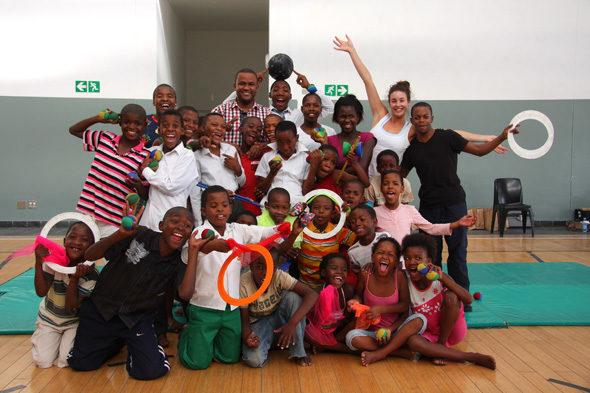 O circo dos nenos con SIDA