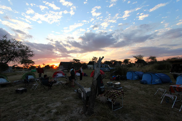 Ruta VaP al Okavango: nueve amigos de viaje por África