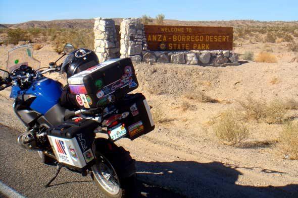 A área descoñecida dos exploradores españois de California