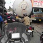 atasco frontera Nepal