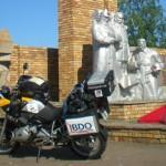 Estatua de héroes ucranianos