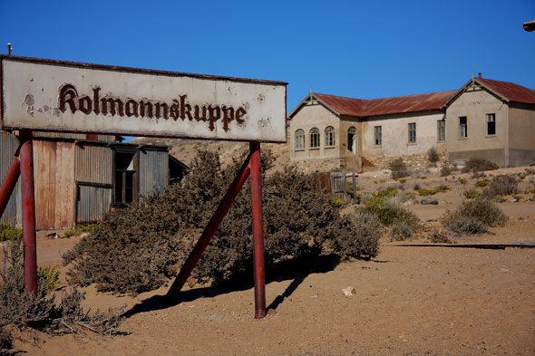 Namibia: Kolmanns- golpe, a cidade fantasma de diamantes