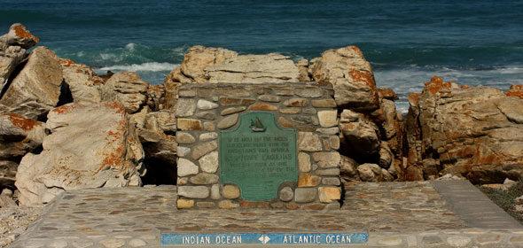 Cape Agullas: o punto máis meridional de África