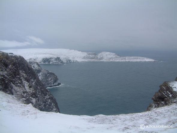 Cabo Norte: caviar y champagne en el punto más al norte de Europa