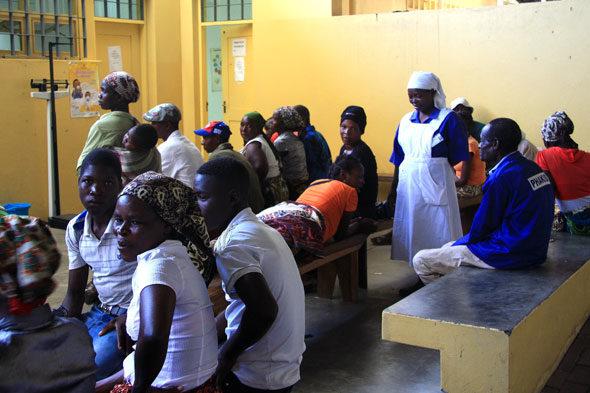 Una biopsia en Mozambique
