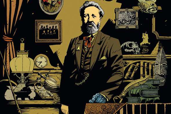 Terra de Jules Verne