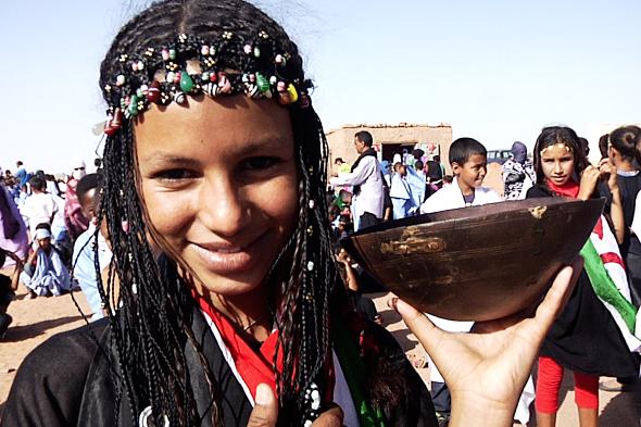 El baile de los saharauis