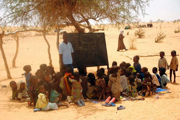 """O último nómades do Sahel II: """"Escola"""""""