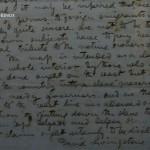 Manuscrito del explorador en el museo Livingstone