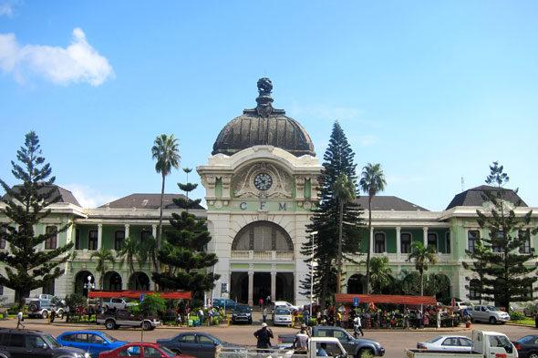 Maputo: a estación de tren máis bonita do mundo