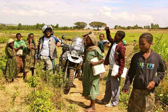 Etiopía (II):a tumba esquecido de Pedro Paez