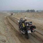 moto en pista