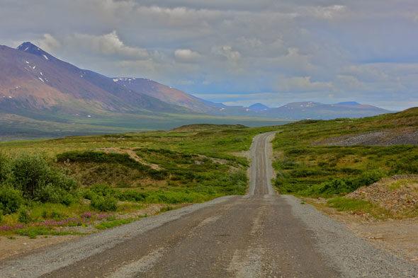 Alasca: para cerca de história da motocicleta