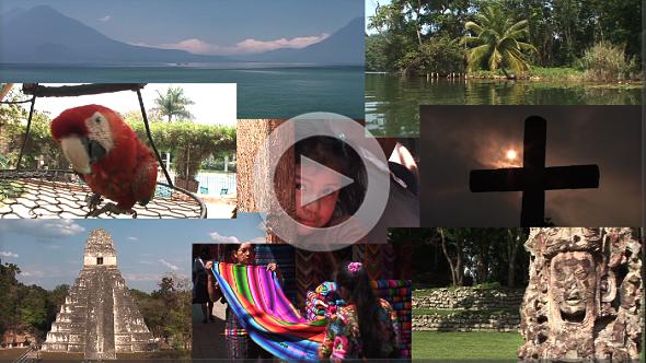 Viajar com a gente para o coração do mundo maia