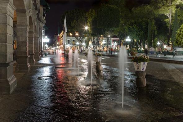 El Grito de un gachupín en Puebla